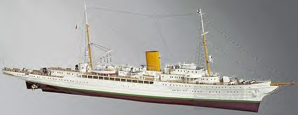 AVISO GRILLE handcrafted yacht model
