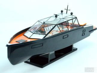XANADU Yacht handmade wooden model