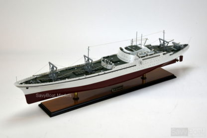 NS Savannah handmade wooden model ship