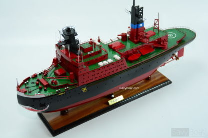Yamal Nuclear-powered icebreaker ship model