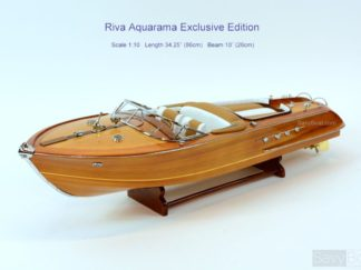 Riva Aquarama classic boat model