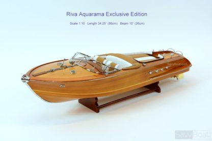 Riva Aquarama classic boat model