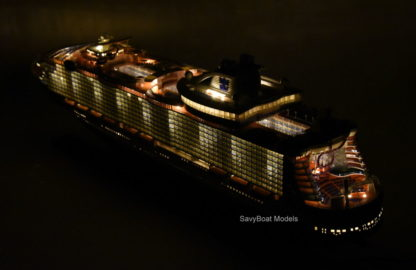 Symphony of the seas handmade model ship