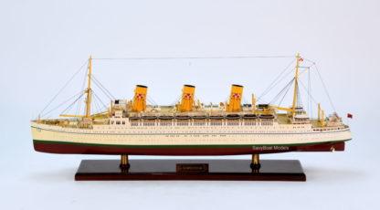 Empress of Scotland handmade ship model
