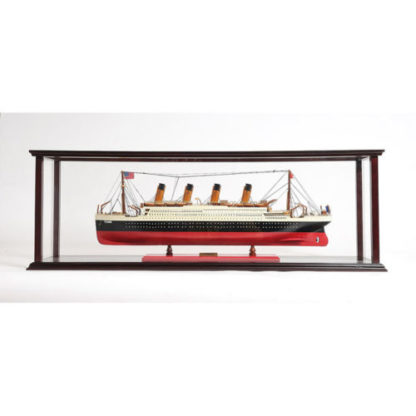 Display case for model ship