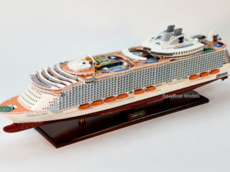 Symphony of the Seas wooden handmade model