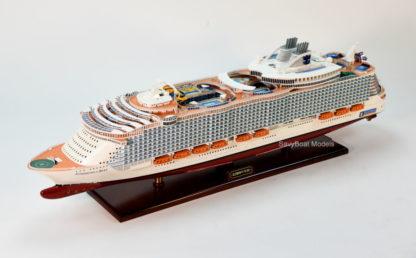 Symphony of the Seas wooden handmade model