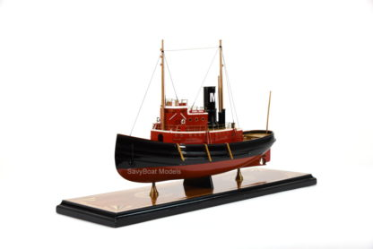 Edmon J. Moran tugboat woodden model