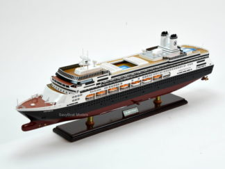 MS Amsterdam Handcrafted ship model
