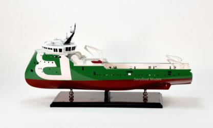 Orca Bourbon boat model