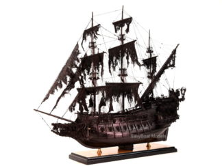Flying Dutchman pirate ship model