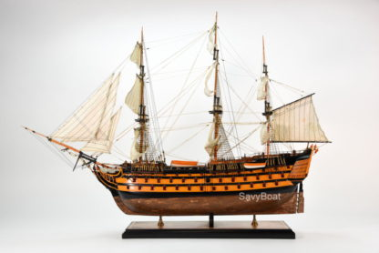 Nelson's flagship - HMS Victory model ship