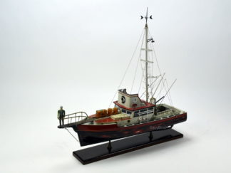 Orca Jaws wooden boat model