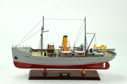 Aurora ship model from The Adventures Of Tintin