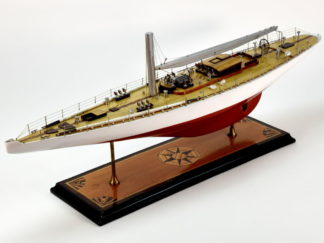 Ranger racing yacht handmade model