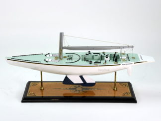 Australia II Yatch handmade wooden model