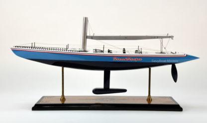 Stars & Stripes Wooden model boat