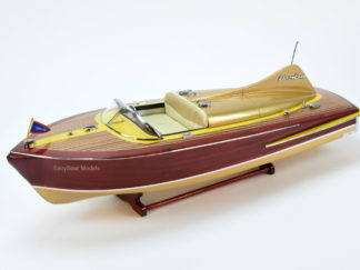 Chris Craft Cobra wooden boat model