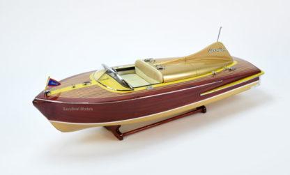 Chris Craft Cobra wooden boat model