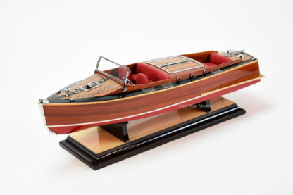 Chris Craft Runabout wooden boat model