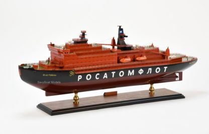 50 Let Pobedy icebreaker ship model