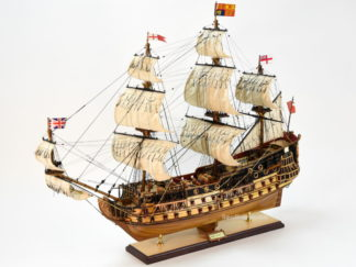 HMS Prince tall ship model