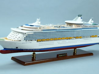 Navigator of the Seas handmade ship model