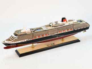 MS Queen Victoria cruise ship model
