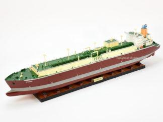 Q-Max LNG tanker ship model