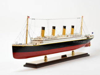 RMS Olympic ocean liner ship model