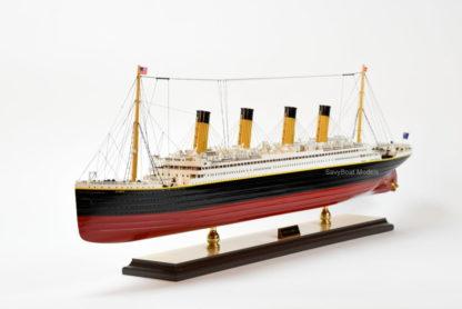 RMS Olympic ocean liner ship model