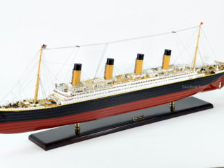 RMS Titanic ocean liner ship model