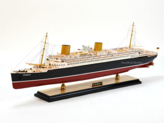 SS Bremen ocean liner ship model