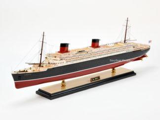 SS Liberte ocean liner ship model