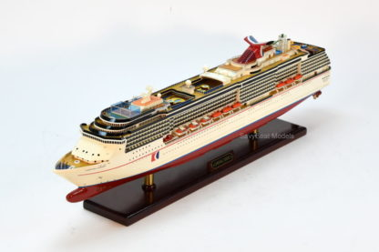 Carnival Legend cruise ship model