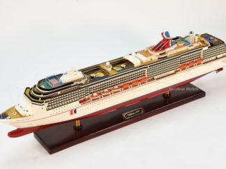 Carnival Spirit cruise ship Model