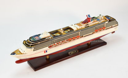 Carnival Spirit cruise ship Model
