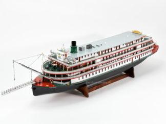 Delta Queen streamboat handcrafted model
