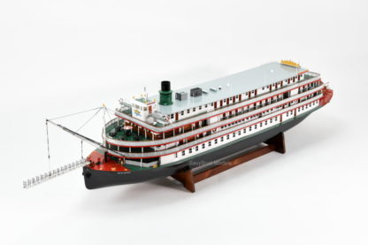 Delta Queen streamboat handcrafted model