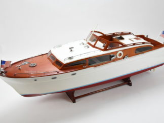Chris Craft Corvette handmade model boat