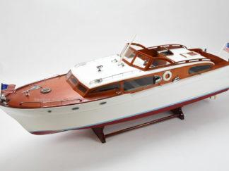 Chris Craft Corvette handmade model boat