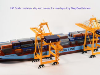 Container Ship Model Train Layout