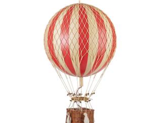 True Red Hot Air Balloon