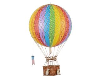 Rainbow Hot Air Balloon
