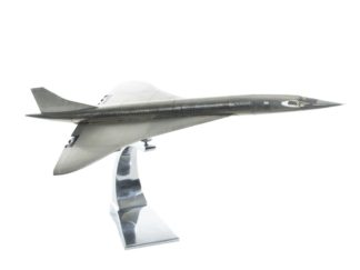 Concorde Handcrafted Airplane Model