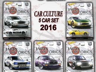 Hot Wheels 1:64 Car Culture Japan Historics