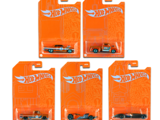 Hot Wheels 2020 Blue and Orange 5pc Set