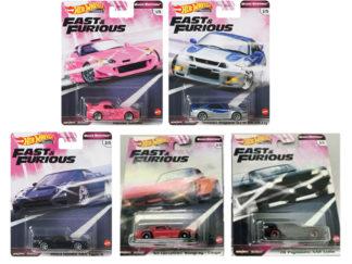 Hot Wheels Fast & Furious Premium Quick Shifters Set